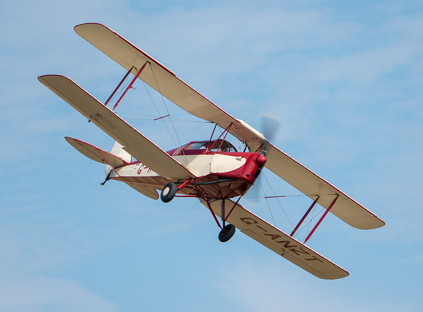 Family Airshow 2018, Flying Display, Old Warden, Shuttleworth - 05/08/2018:15:08