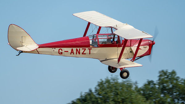 Family Airshow 2018, Flying Display, Old Warden, Shuttleworth - 05/08/2018:15:09