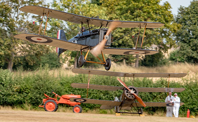 Family Airshow 2018, Old Warden, Shuttleworth - 05/08/2018:15:03