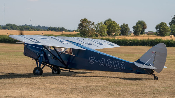 Family Airshow 2018, Old Warden, Shuttleworth - 05/08/2018:10:56