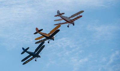 Family Airshow 2018, Old Warden, Shuttleworth - 05/08/2018:10:46