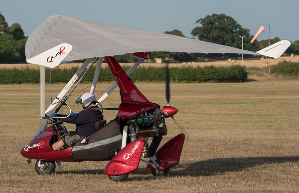 Departure, Family Airshow 2018, Old Warden, Shuttleworth - 05/08/2018:18:19