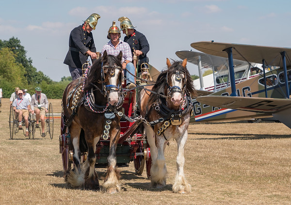Family Airshow 2018, Old Warden, Shuttleworth - 05/08/2018:12:13