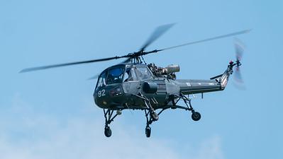 C/N F9754, Fly Navy, G-BYCX, MK1B, Old Warden, Shuttleworth, Wasp, Westland - 03/06/2018:14:32