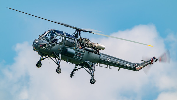 C/N F9754, Fly Navy, G-BYCX, MK1B, Old Warden, Shuttleworth, Wasp, Westland - 03/06/2018:14:36