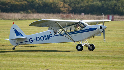 Shuttleworth, Aircraft-> Piper-> Super Cub PA-18-150, Old Warden-> Race Day 2018, Old Warden-> Arrival - 07/10/2018@09:51