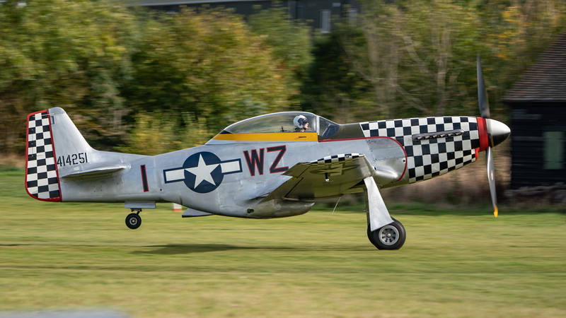 Shuttleworth, Old Warden-> Race Day 2018-> Display-> Nod To Reno, Old Warden-> Race Day 2018, Aircraft-> North American-> TF-51D Mustang-> 414251 - Contrary Mary - 07/10/2018@14:30