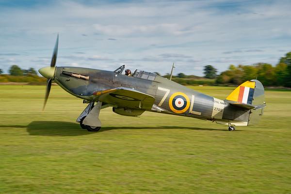 Shuttleworth, Old Warden-> Race Day 2018-> Display-> Nod To Reno, Aircraft-> Hawker-> Hurricane-> Sea Hurricane Mk1B-> Z7015 - 07/10/2018@15:02