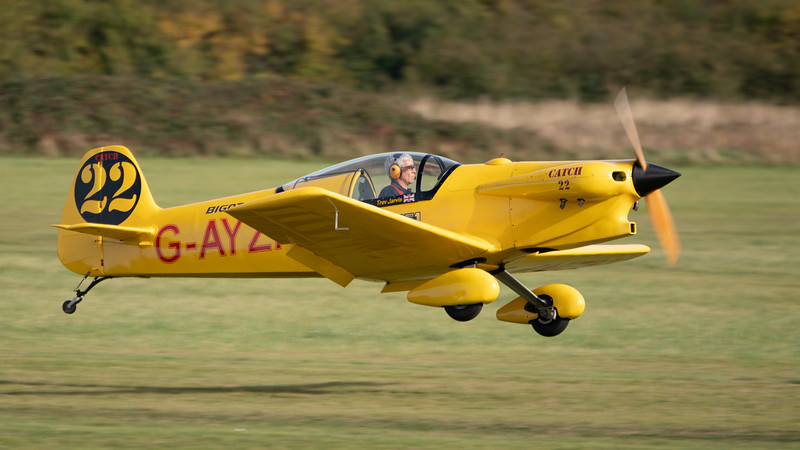 Shuttleworth, Aircraft-> Taylor-> JT-2 Titch-> G-AYZH, Old Warden-> Race Day 2018-> Display-> F1 Racers - 07/10/2018@14:40