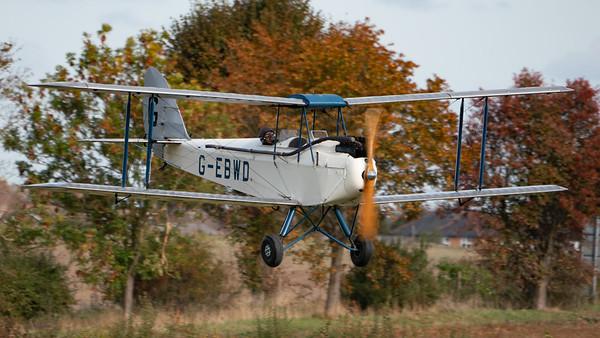 Shuttleworth, Old Warden-> Race Day 2018-> Display-> Mock Air Race, Aircraft-> de Havilland-> DH-60X Moth-> G-EBWD - 07/10/2018@14:25