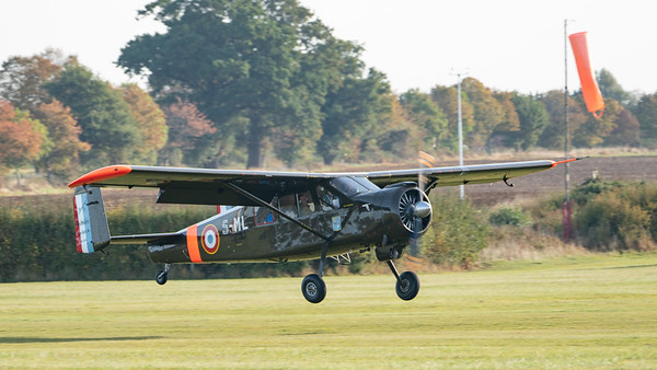 Shuttleworth, Old Warden-> Arrival, Old Warden-> Race Day 2018, Aircraft-> Max Holste-> MH.1521M Broussard-> G-CIGH - 07/10/2018@09:27