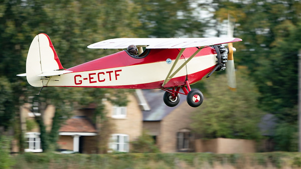 Shuttleworth, Old Warden-> Race Day 2018-> Display-> Comper Trio (Duo), Aircraft-> Comper-> C.L.A.7 SWIFT-> G-LCGL - 07/10/2018@16:04
