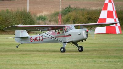 Shuttleworth, Aircraft-> Auster-> J-1 Autocrat-> G-AGTO, Old Warden-> Race Day 2018-> Departures - 07/10/2018@16:41