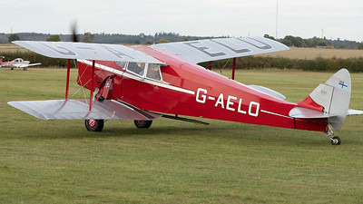 Shuttleworth, Aircraft-> de Havilland-> DH.87B Hornet Moth-> G-AELO, Old Warden-> Race Day 2018-> Departures - 07/10/2018@16:42