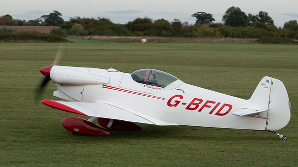 Shuttleworth, Aircraft-> Taylor-> JT-2 Titch-> G-BFID, Old Warden-> Race Day 2018-> Departures - 07/10/2018@16:39