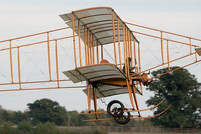 Old Warden-> Race Day 2018-> Display-> Edwardians, Aircraft-> Bristol Aeroplane Company-> Boxkite - 1910 (Replica), Shuttleworth - 07/10/2018@17:41