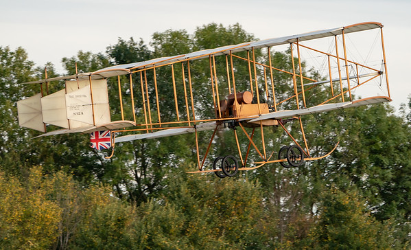 Old Warden-> Race Day 2018-> Display-> Edwardians, Aircraft-> Bristol Aeroplane Company-> Boxkite - 1910 (Replica), Shuttleworth - 07/10/2018@17:41