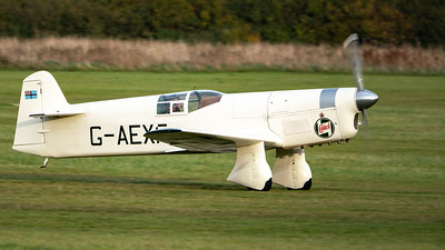 Old Warden-> Race Day 2018-> Display-> Famous Racers, Aircraft-> Percival-> Mew Gull-> G-AEXF, Shuttleworth - 07/10/2018@17:10