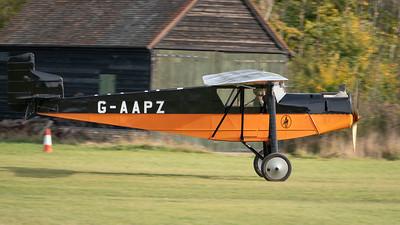 Shuttleworth, Old Warden-> Race Day 2018-> Display-> Mock Air Race 2, Aircraft-> Desoutter-> MKI-> G-AAPZ - 07/10/2018@15:06
