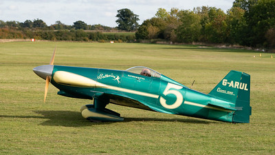 Shuttleworth, Old Warden-> Race Day 2018-> Display-> Mock Air Race 2, Aircraft-> LeVier-> Cosmic Wind-> G-ARUL - 07/10/2018@15:03