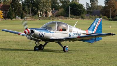 Shuttleworth, Old Warden-> Race Day 2018-> Display-> Mock Air Race 2, Aircraft-> Scottish Aviation-> Bulldog 122-> G-BCUS - 07/10/2018@15:03