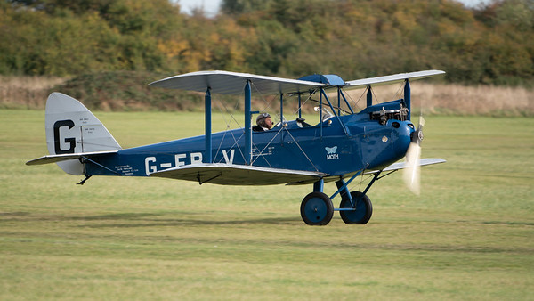 Shuttleworth, Old Warden-> Race Day 2018-> Display-> Mock Air Race, Old Warden-> Race Day 2018, Aircraft-> de Havilland-> DH-60 Moth-> G-EBLV - 07/10/2018@14:09