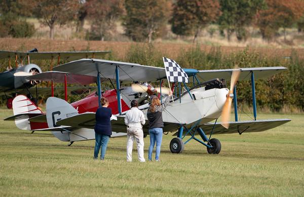 Shuttleworth, Aircraft-> de Havilland-> DH-60X Moth-> G-EBWD, Old Warden-> Race Day 2018, Old Warden-> Race Day 2018-> Display-> Mock Air Race - 07/10/2018@14:11