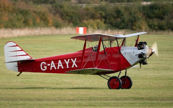 Shuttleworth, Old Warden-> Race Day 2018-> Display-> Mock Air Race, Old Warden-> Race Day 2018, Aircraft-> Southern-> Martlet-> G-AAYX - 07/10/2018@14:12