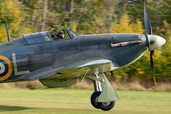 Shuttleworth, Old Warden-> Race Day 2018-> Display-> Nod To Reno, Old Warden-> Race Day 2018, Aircraft-> Hawker-> Hurricane-> Sea Hurricane Mk1B-> Z7015 - 07/10/2018@14:30