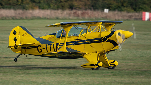 Shuttleworth, Old Warden-> Race Day 2018-> Display-> Pitts Race, Aircraft-> Pitts-> S-2A Special-> G-ITII - 07/10/2018@15:31