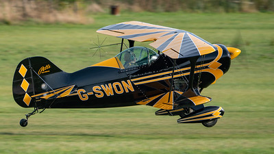 Shuttleworth, Old Warden-> Race Day 2018-> Display-> Pitts Race, Aircraft-> Pitts-> S-1S Special-> G-SWON - 07/10/2018@15:31