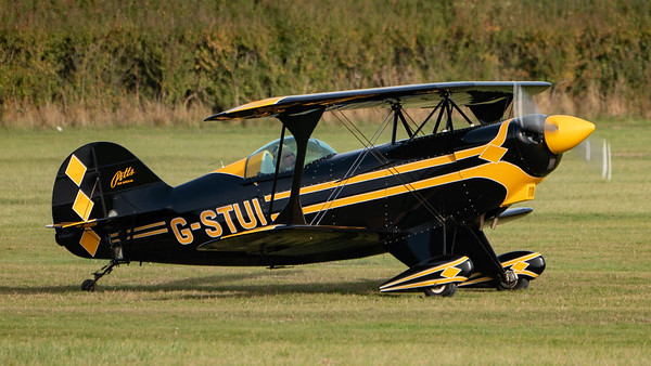 Shuttleworth, Old Warden-> Race Day 2018-> Display-> Pitts Race, Aircraft-> Pitts-> S-2AE Special-> G-STUI - 07/10/2018@15:30