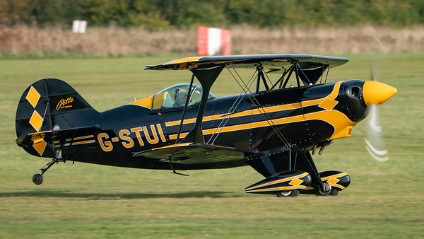 Shuttleworth, Old Warden-> Race Day 2018-> Display-> Pitts Race, Aircraft-> Pitts-> S-2AE Special-> G-STUI - 07/10/2018@15:31