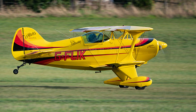 Shuttleworth, Old Warden-> Race Day 2018-> Display-> Pitts Race, Aircraft-> Pitts-> S-1S Special-> G-FLIK - 07/10/2018@15:31
