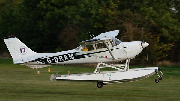 Shuttleworth, Old Warden-> Race Day 2018-> Display-> Schneider Trophy Tribute, Old Warden-> Race Day 2018, Aircraft-> Reims Cessna-> FR172F Reims Rocket-> G-DRAM - 07/10/2018@17:00