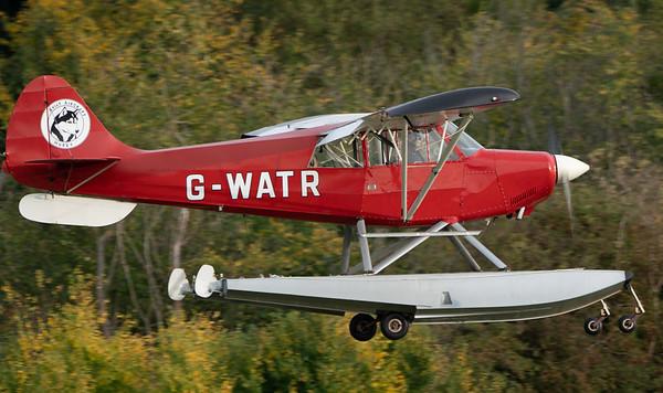 Shuttleworth, Old Warden-> Race Day 2018-> Display-> Schneider Trophy Tribute, Old Warden-> Race Day 2018, Aircraft-> Christen-> A-1 Husky-> G-WATR - 07/10/2018@17:00