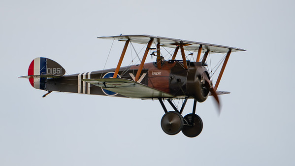 Shuttleworth, Old Warden-> Race Day 2018-> Display-> WW1 Racers, Aircraft-> Sopwith-> Camel F.1-> D1851 - 07/10/2018@16:24