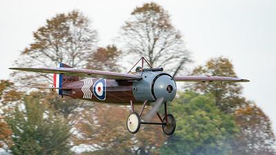 Shuttleworth, Old Warden-> Race Day 2018-> Display-> WW1 Racers, Aircraft-> Bristol Aeroplane Company-> M.1C-> C4918 - 07/10/2018@16:29