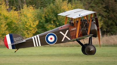 Shuttleworth, Old Warden-> Race Day 2018-> Display-> WW1 Racers, Aircraft-> Sopwith-> Camel F.1-> D1851 - 07/10/2018@16:27