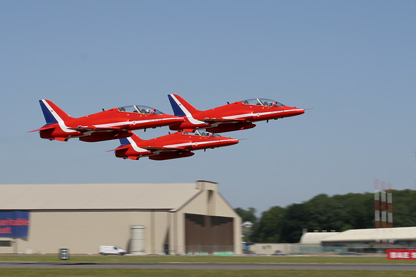 "The Red Arrows ""BAe Hawk T1""  (Royal Air Force)"