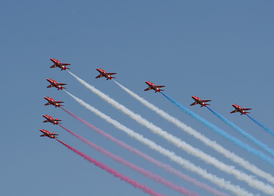 "The Red Arrows ""BAe Hawk T1/T1As""  (Royal Air Force)"