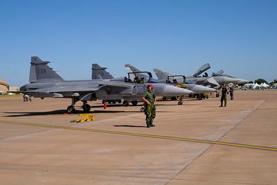 """Saab Jas39B Gripen F7 """"Swedish Air Force"""""""