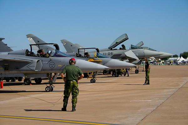Saab Jas39B Gripen F7  (Swedish Air Force)