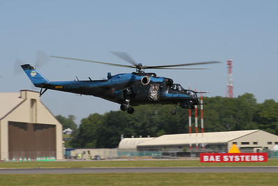 Mil Mi-24V Hind  (Czech Air Force)