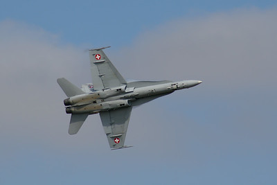 McDonnell Douglas F/A-18C Hornet  (Swiss Air Force)