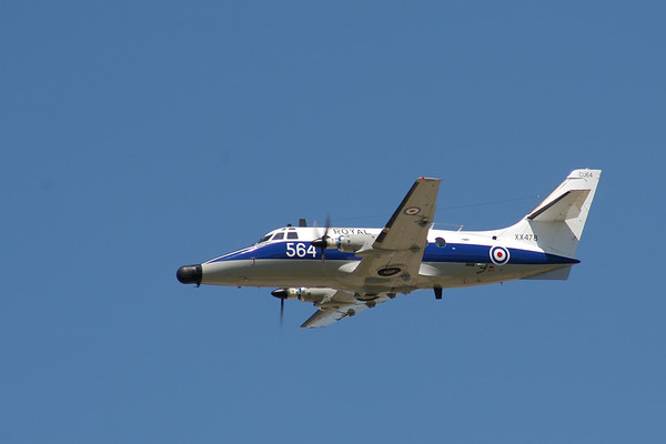 Scottish Aviation Jetstream T2s  (Royal Navy)