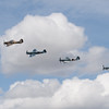 Supermarine Spitfire PRXIXs and Hawker Hurricane IIc  (The Battle of Britain Memorial Flight)