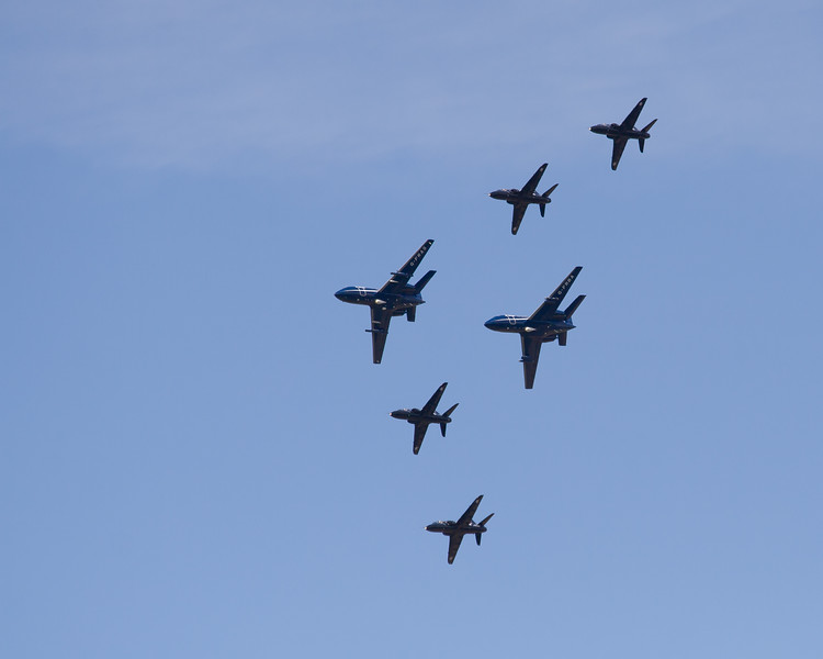 The Black Seahawks  2 X Dassault Falcon 20 and 4X BAe Hawk T.Mk1 (FR Aviation)