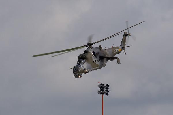 Mil Mi-24V  (Czech Air Force)