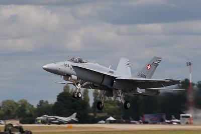 McDonnell Douglas F/A-18F Super Hornet  (Swiss Air Force)